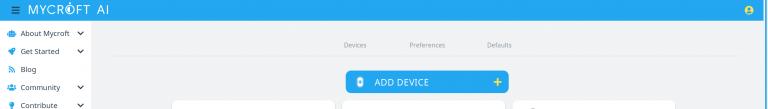 MyCroft: add device